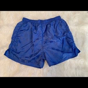 🌈5/$25🌈Blue soccer shorts w/pocket size M